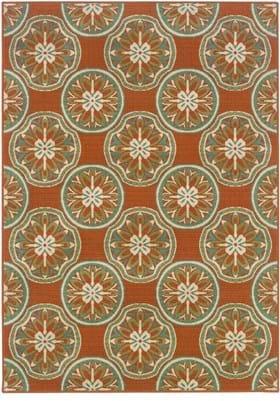 Oriental Weavers 8323D Rust
