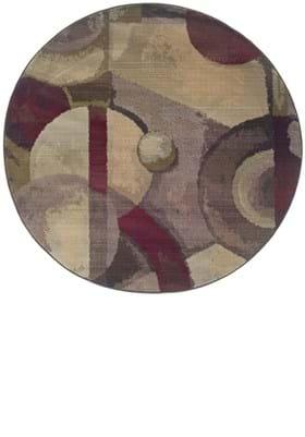 Oriental Weavers 8013A Beige Burgundy