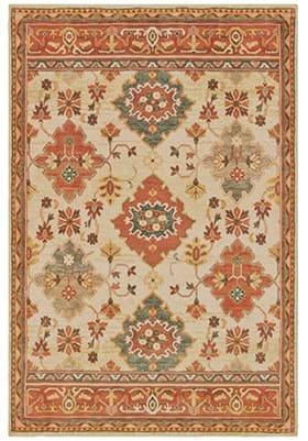 Oriental Weavers 9570 A Ivory Orange