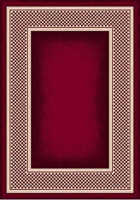 Milliken Old Gingham 7321 Ruby 8000