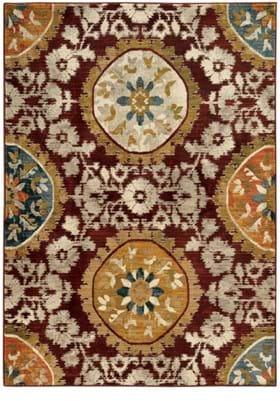 Oriental Weavers 6366A Red Gold