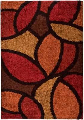 Orian Rugs Bloom Petal 1714 Rouge