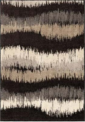 Orian Rugs Brushed Waves 4309 Multi