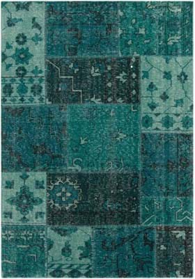 Chandra FUS-26303 Teal Black