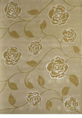Rugs America 4810A Golden Blossom