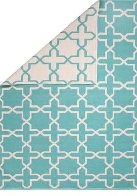 Jaipur Rome AVL01 Turquoise Whitecap Gray