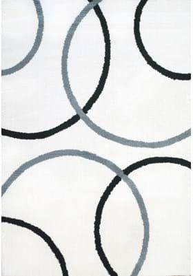 Dynamic Rugs 5922 190 White Grey Black