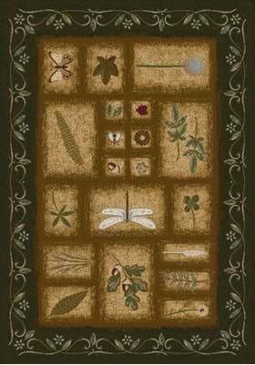 Milliken Meadow 4884 Olive 11500