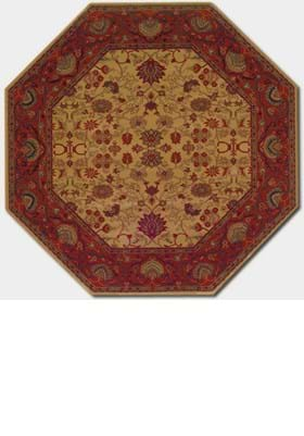 Couristan 3773 Tabriz 4874 Harvest Gold