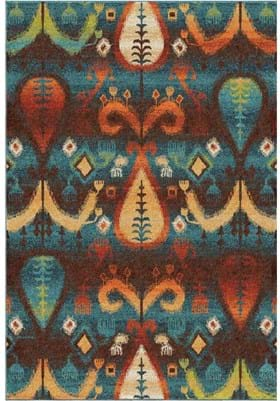 Orian Rugs Tribal Turk 2827 Blue