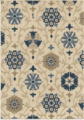 Orian Rugs Chico 1844 Ivory