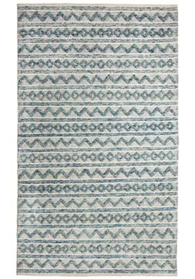 Dynamic Rugs 91004 144 Teal Ivory