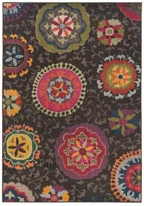 Oriental Weavers 1333N Charcoal