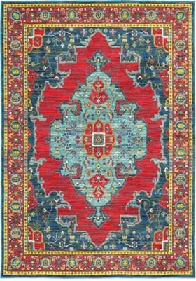 Oriental Weavers 1331S Blue Red