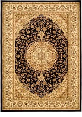 Safavieh LNH-222 A Black Ivory