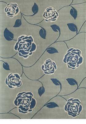 Rugs America 4810C Sapphire Blossom