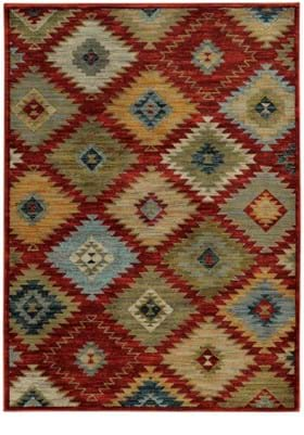Oriental Weavers 5936D Red Multi