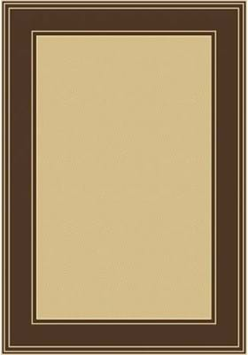 Central Oriental Classic Border 2068 Brown