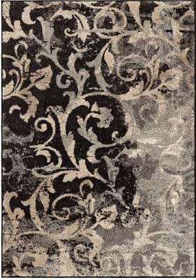 Orian Rugs Distressed Scroll 4324 Multi