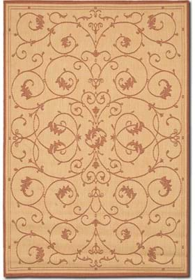 Couristan 1583 Veranda 1112 Natural Terracotta
