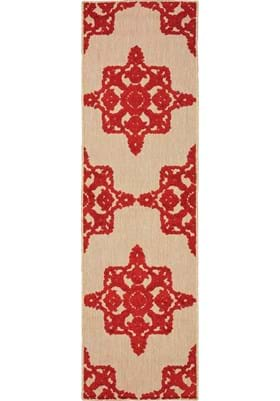 Oriental Weavers 97R Sand Red