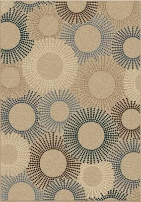 Orian Rugs Ray of Light 1833 Beige
