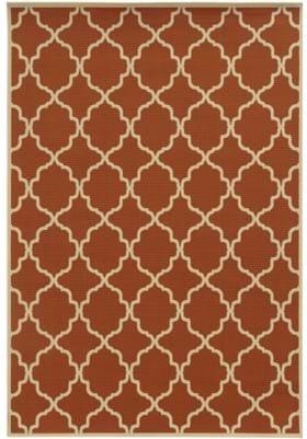 Oriental Weavers 4770D Orange Ivory