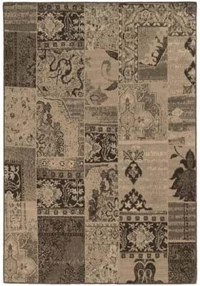 Oriental Weavers 501N Tan Black