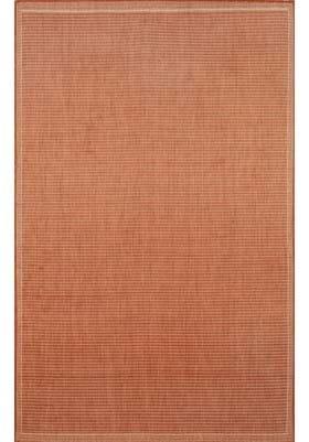 Trans Ocean Texture 176264 Terracotta Ivory
