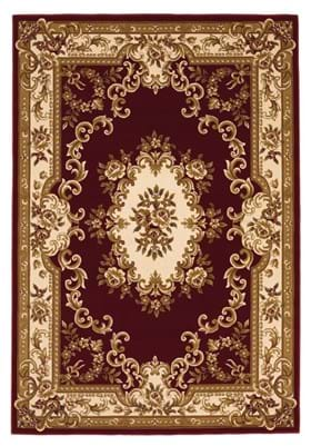 KAS Aubusson 5308 Red Ivory