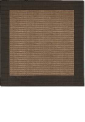 Couristan 1005 Checkered Field 2500 Cocoa Black