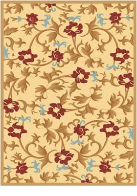 Rugs America Bouquet 1415 Cream