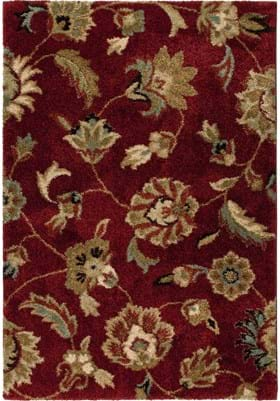 Orian Rugs London 1622 Rouge