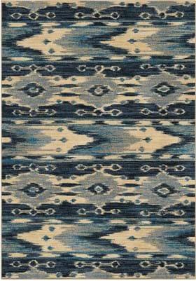 Orian Rugs Moapa 3838 Blue