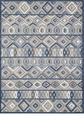 KAS 6921 Gray Blue Aztec