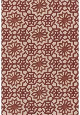 Loloi Rugs VO-10 Natural Rust