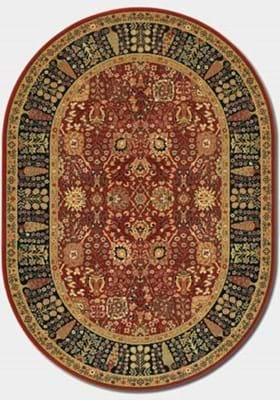 Couristan 0621 Cypress Garden 2597 Persian Red