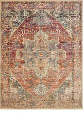 Loloi Rugs JV-08 Berry Sunrise