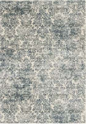 KAS Damask 8609 Ivory Blue
