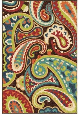 Orian Rugs Paisley 2305 Multi