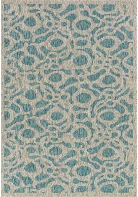 Loloi Rugs NP-06 Aqua Grey