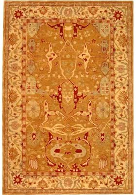 Safavieh AN515A Straw Brown Ivory
