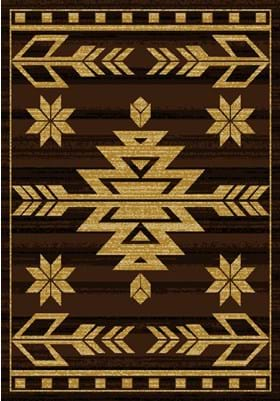 United Weavers 750-00150 Teton Brown
