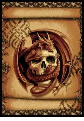 United Weavers 910-06330 Snake Eyes Burgundy