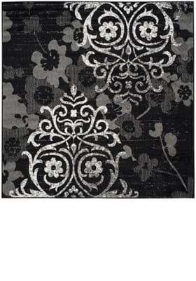 Safavieh ADR114A Black Silver