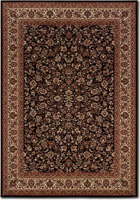 Couristan 3791 Isfahan 6025 Black