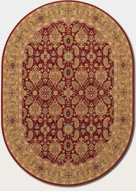 Couristan 8132 All Over Vase 2608 Persian Red