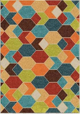 Orian Rugs Diamond Struck 2363 Multi