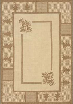 United Weavers 101-40650 Pine Court Brown