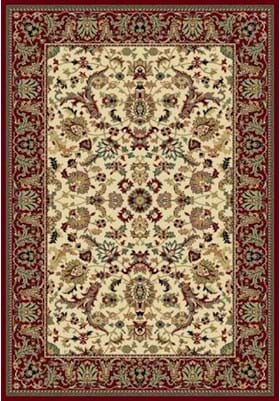 Central Oriental Persian Flower 2067 Ivory